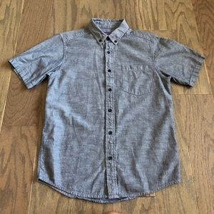 Patagonia Bluffside Shirt in Chambray Navy Blue